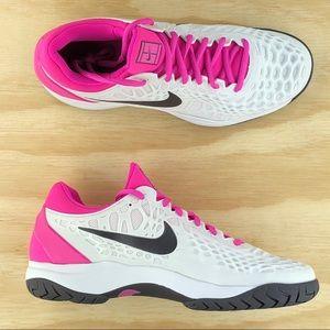 Nike Shoes Zoom Cage 3 Rafael Nadal Hc White Pink Tennis Poshmark